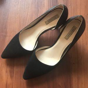 Cole Haan Black Suede pump women size 8